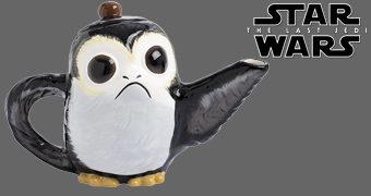 Bule de Chá Porg Star Wars Os Últimos Jedi