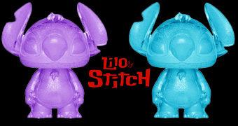 Lilo & Stitch Hikari Sofubi – Bonecos Funko Disney em Estilo Japonês