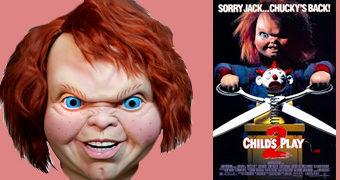 Máscara Chucky, o Brinquedo Assassino