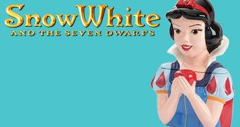 Pote de Cookies Branca de Neve