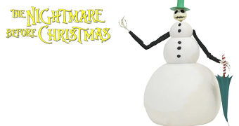 Boneco de Luxo Jack Snowman (Nightmare Before Christmas)