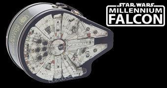 Lancheira de Lata Millennium Falcon Star Wars