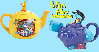 Bules de Chá Yellow Submarine Beatles