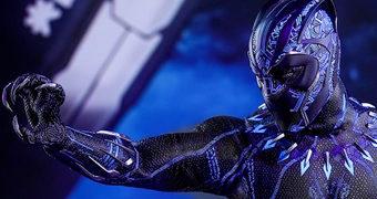 Pantera Negra (Chadwick Boseman) em Black Panther – Action Figure Perfeita 1:6 Hot Toys