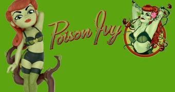Boneca Poison Ivy Rock Candy DC Bombshells (Hera Venenosa)