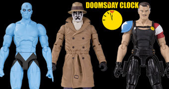 Action Figures Watchmen Doomsday Clock