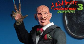 Freddy Krueger de Smoking (Tuxedo) – Action Figure Retro Neca A Hora do Pesadelo 3