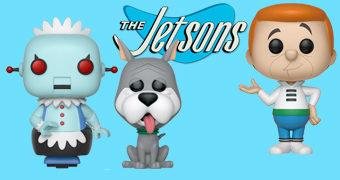 Bonecos Pop! Os Jetsons com George Jetson, Astro e a Robô Rosie