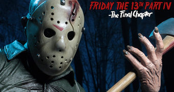 Jason Voorhees Escala 1:4 – Action Figure Neca de Sexta-Feira 13 Parte IV – Capítulo Final