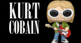 Kurt Cobain Happy Birthday Pop! – Boneco de Aniversário do Fundador do Nirvana