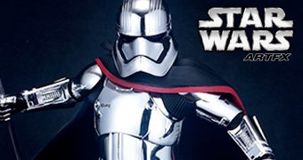 Captain Phasma ArtFX The Last Jedi – Estátua Kotobukiya Star Wars