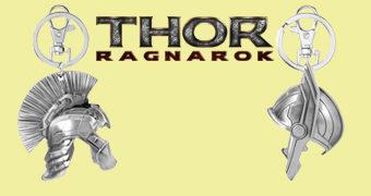 Chaveiros Thor e Hulk Capacetes de Gladiadores Thor: Ragnarök