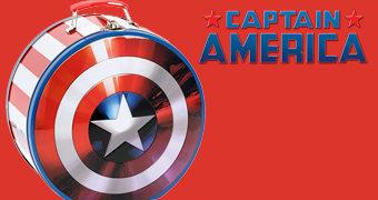 Lancheira Escudo Capitão América