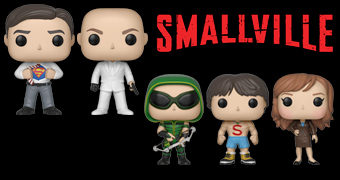 Bonecos Pop! da Série Smallville (Superman)