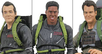 "Action Figures Ghostbusters II Movie Select ""The boys are Back in Town"""
