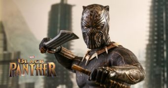 Erik Killmonger (Michael B. Jordan) de Black Panther – Action Figure Perfeita 1:6 Hot Toys