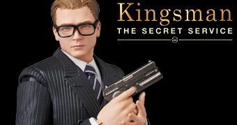 Eggsy MAFEX Kingsman: The Secret Service – Action Figure Medicom