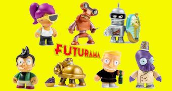 "Mini-Figuras Futurama ""Universe X"" Kidrobot (Blind Box)"