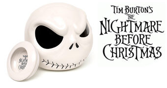 Pote de Cookies Jack Skellington Nightmare Before Christmas