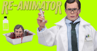 Dr. Herbert West Re-Animator (Filme) – Action Figure Retro Neca