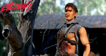 Action Figure Ash Williams (Evil Dead 2) One:12 Collective da Mezco