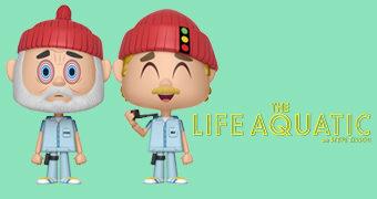 A Vida Marinha com Steve Zissou VYNL: Steve e Ned (Wes Anderson)
