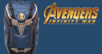 Mochila Thanos Manopla do Infinito (Vingadores: Guerra Infinita)