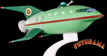 U.S.S. Planet Express Ship – Réplica Perfeita da Nave Espacial do Serviço de Entregas Intergaláctico (Futurama)