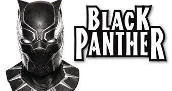 Máscara Pantera Negra (Black Panther Cowl Mask)