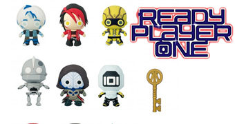 Chaveiros Ready Player One (Jogador Nº 1) 3D Monogram Figural Keyrings