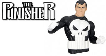 Cofre Busto Justiceiro (The Punisher Comic)