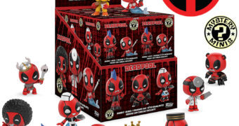 Deadpool Playtime Mystery Minis – Mini-Figuras Funko Blind-Box