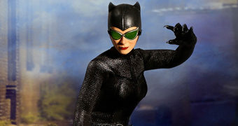 Action Figure Catwoman (Mulher Gato) One:12 Collective da Mezco