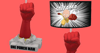 Abajur One Punch Man Punho de Saitama
