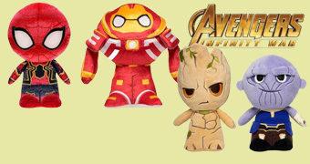 Bonecos de Pelúcia Vingadores: Guerra Infinita SuperCute