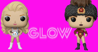 Bonecas Pop! da Série GLOW (Gorgeous Ladies of Wrestling)