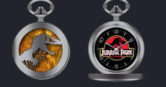 Relógio de Bolso Jurassic Park 25 Anos