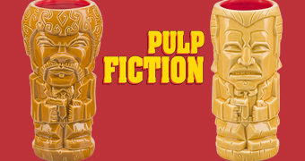 Canecas Tiki Mugs Pulp Fiction: Jules Tiki e Vincent Tiki