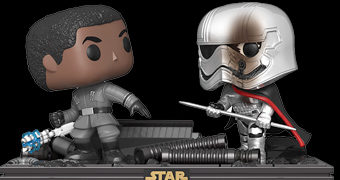 Finn e Phasma Pop! Movie Moments (Star Wars: Os Últimos Jedi)
