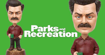 Ron Swanson Bobble Head da Série Parks and Recreation