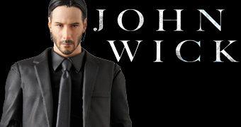 John Wick MAFEX (Keanu Reeves) Action Figure Medicom