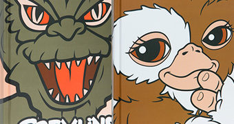 "Diário Gremlins ""Good and Evil"" com Gizmo e Stripe"