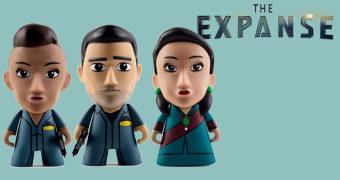 Bonecos da Série The Expanse de James S. A. Corey (Sci-Fi)