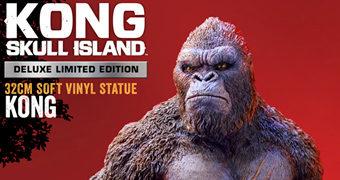 Estátua King Kong de Vinil (Kong: Ilha da Caveira)