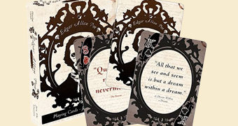 Baralho Citações de Edgar Allan Poe