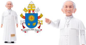 Action Figure do Papa Francisco, o Bispo de Roma (Sexta-feira Santa)