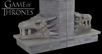 Dragonstone Gate Bookends – Apoios de Livros Game of Thrones