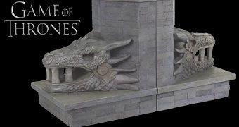 Dragonstone Gate Bookends – Apoios de Livros Game of Thrones