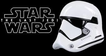 Capacete de Luxo First Order Stormtrooper 1:1 Star Wars Last Jedi