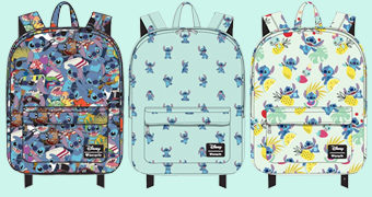 4 Mochilas do Filme Lilo & Stitch